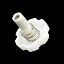 top lock knob with spring