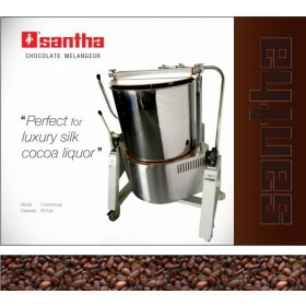 Santha 100 LBS Chocolate Melangeur with Speed Controller