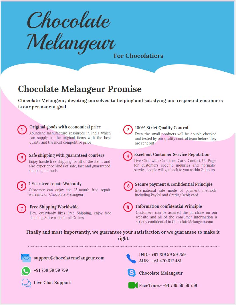 About Chocolate Melangeur